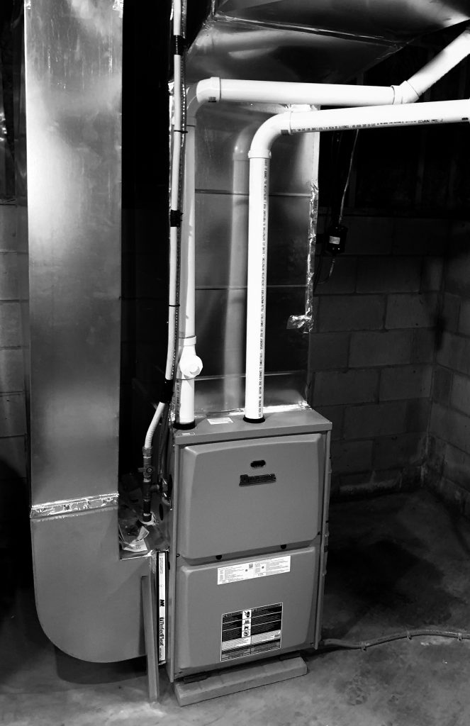 Converted this customer from oil to propane. 50% footprint and added efficiency meant he not only saved money on bills but also had more storage room in his workshop.